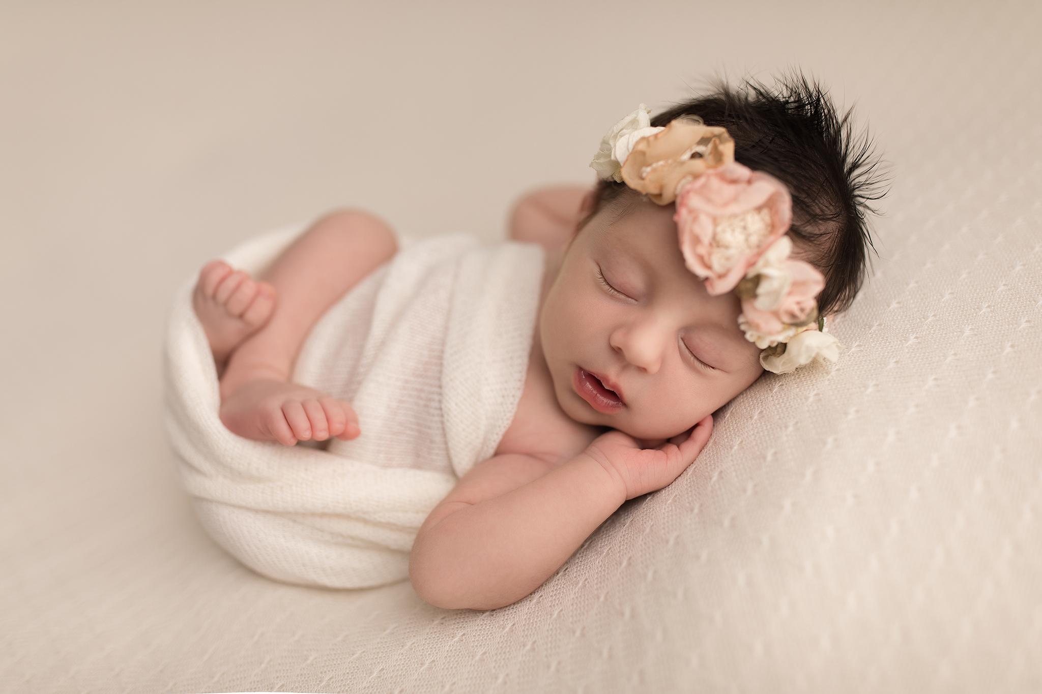 Újszülöttfotózás-Flóra